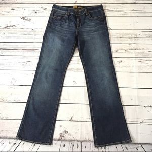 Kut from the Kloth straight leg high waist jeans